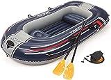 Bestway- Hydro-Force raft Set gommone, Colore Blu, 255x127x41 cm, 61068