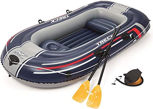 Bestway Hydro-Force Schlauchboot-Set Treck X 2, für 2 Personen, 255 x 127 x 36 cm