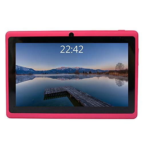B Q88 7-Zoll-Tablet-PC, 1 GB RAM + 8 GB ROM, Google Android 4.4, AllwinnerA33-Quad-Core-Cortex-A7 1,5 GHz, HD-Touchscreen, Dual-Kamera, WI-FI, Bluetooth (Rosa) ()