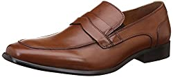Steve Madden Mens Dubbel Tan Leather Formal Shoes - 9 UK/India (42.5 EU)(9.5 US)