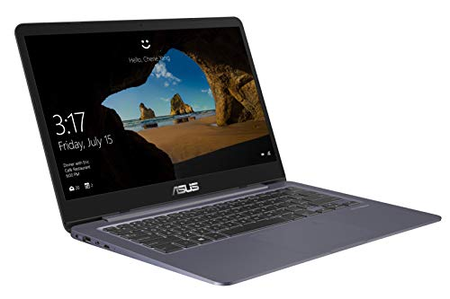 Asus VivoBook S14 S406UA 90NB0FX2-M01260 35,6 cm (14 Zoll Full-HD matt) Notebook (Intel Core i7-8550U, 16GB RAM, 256GB SSD, Intel UHD Graphics, Windows 10) grau metall