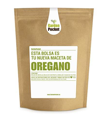 Garden Pocket - Kit de Cultivo de ORÉGANO - Bolsa Maceta