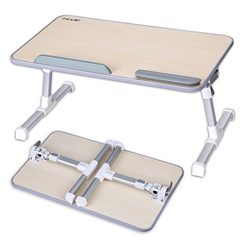 Gladle Höhenverstellbarer Laptoptisch fürs Bett Betttisch klappbarer  Notebooktisch für Sofa Lapdesk für Laptop, Frühstück Couch Lese Tisch [2 Jahre Garantie]