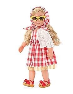 """Nuestra Generación 44581""""Lil Miss Dah-Ling Traje para muñecas"""