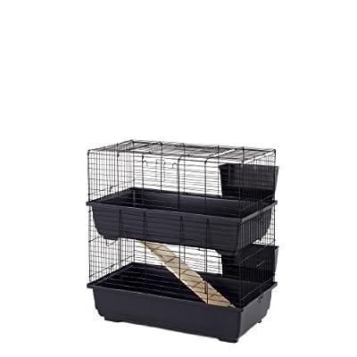 Little Friends Rabbit Cage, Double Tier, 80 cm from Little Friends