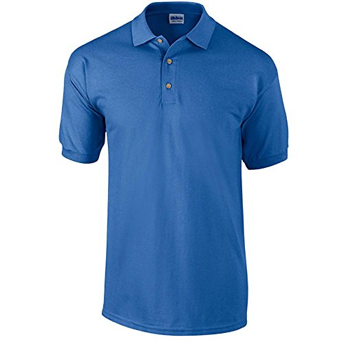 Gildan - Ultra Cotton Ringspun Piqué-Poloshirt - bis Gr. 5XL Royal