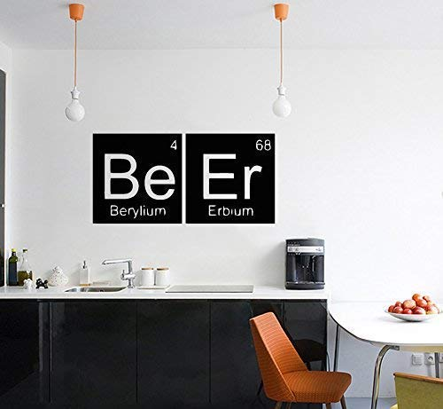Bier - Periodensystem Berylium Erbium Wanddekoration Aufkleber Bild Andere Größen Erhältlich Kariert Angebote