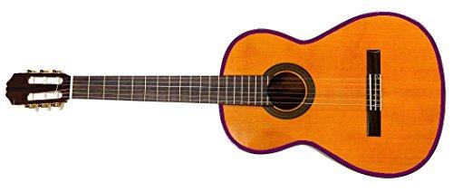 2 Meter Gitarren Umrandung 10mm breite, Hochglanz violett