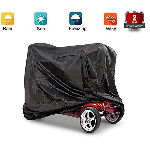 Mobility Scooter Cover, Professionelle Senioren Rollstuhl wasserdichte Regenschutz Aufbewahrungshülle, 170 * 61 * 117cm (#3)