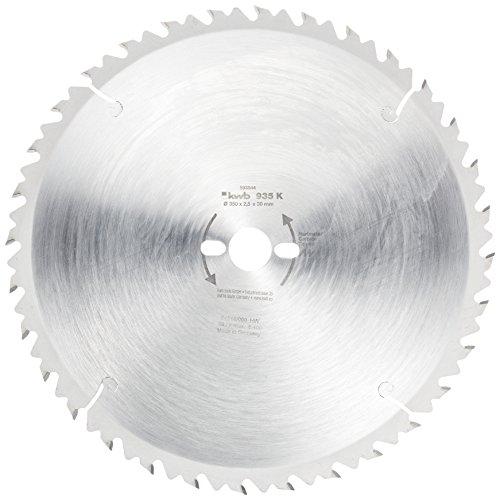kwb Bauholzblatt für Bau- und Tischkreissägen 593544 (350 x 30 mm, 32 Zähne, Grobzahn)