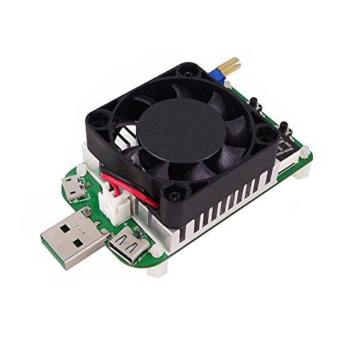 Preisvergleich Produktbild KKmoon USB Intelligenter Schutz Einstellbare Konstantstrom Elektronische Last Voltmeter Alterung Verstärker Widerstand