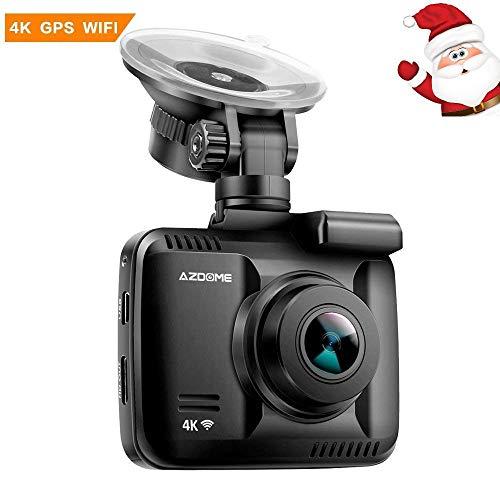 Cámara de Coche 4K 2160P con WiFi GPS,Dashcam Grabadora Ultra HD de...