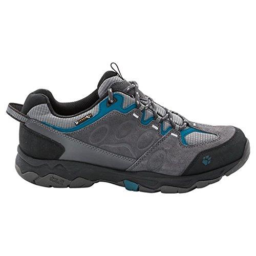 Jack Wolfskin Mtn Attack 5 Texapore Low M, Chaussures de Randonnée Basses Homme Gris