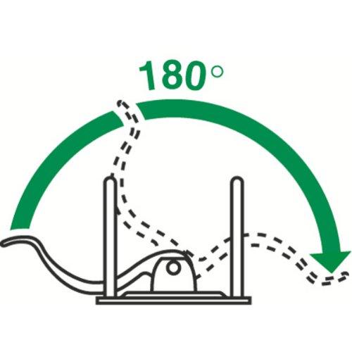Leitz 11160089 Multifunktions-Ordner (A4, Abgerundeter Rücken 8,2 cm Breite, Gummibandverschluss, Kunststoff, Active Urban Chic) dunkelgrau - 12
