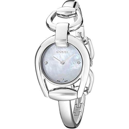 GUCCI Femme 28MM Bracelet & BOITIER Acier Inoxydable Quartz Montre YA139506
