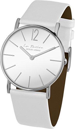 Jacques Lemans Unisex Wrist Watch, La Passion Analogue Quartz Leather LP-122B