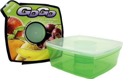 Range Kleen Go Go Fruit and Veggie Storage Container with center reservoir by Range Kleen