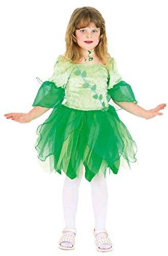 ld Waldland Blume Märchen Welttag des buches-Tage-Woche Kostüm Kleid Outfit 2-8yrs Jahre - Grün, 6-8 years (128cm) (Wald Märchen Kostüme)