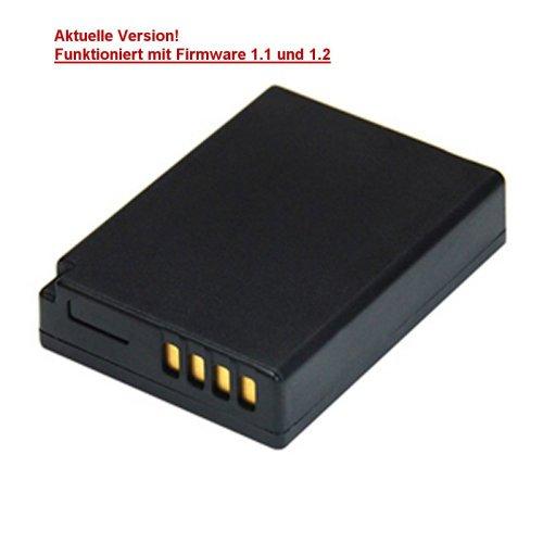 Akku für Panasonic DMW-BCG10/BCG 10/BCG10e/TZ7/TZ6/ZS1/ZS3/3D1/TZ31/TZ25/TZ22/TZ18/TZ10/TZ8/ZX3/ZX1