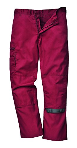 PORS891MAR88 - Bradford Trousers Maroon - 88 R - 88 EU / 88 UK