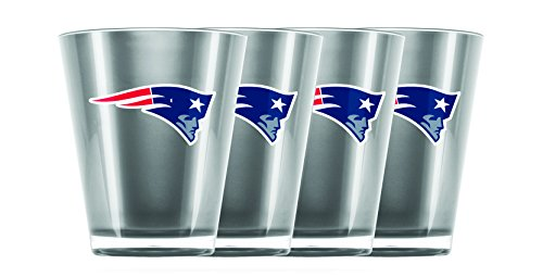 Duck House NFL Unisex-Schnapsglas, Acryl, isoliert, Unisex, Insulated Acrylic Shot Glass Set of 4, 4pcs/Set Drinkware Fan-set