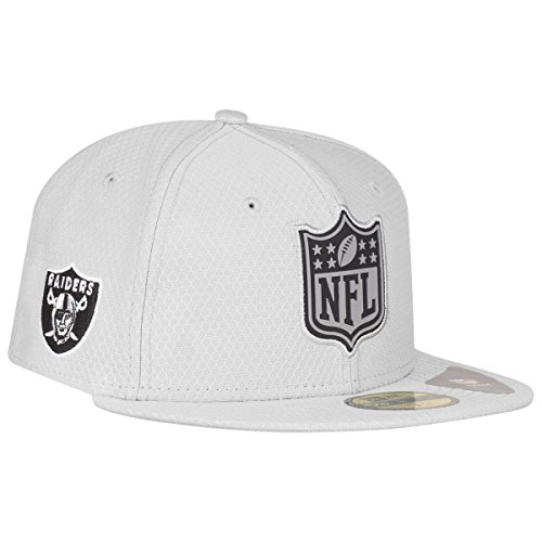 New Era Oakland Raiders League Logo 59FIFTY Fitted NFL Cap