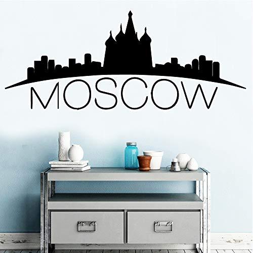 Estilo europeo Moscú etiqueta pared decoración