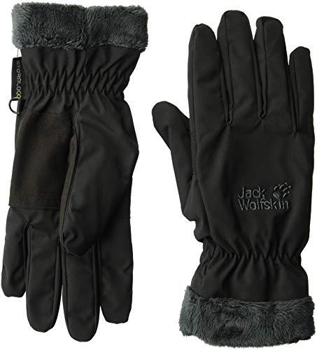 Jack Wolfskin Damen STORMLOCK HIGHLOFT Glove Women Handschuhe, Black, S -