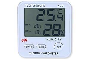 Termostato digitale termometro e igrometro con magnetica per il controllo umidità dell' aria per climatica wohfuehl, il luftfeuchte Misuratore