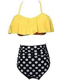 d151bd367d1a Amazon.es: volantes - XL / Bikinis / Ropa de baño: Ropa