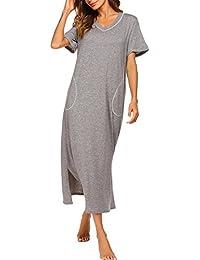 pretty nice a34b3 2697f Suchergebnis auf Amazon.de für: nachthemd damen lang: Bekleidung