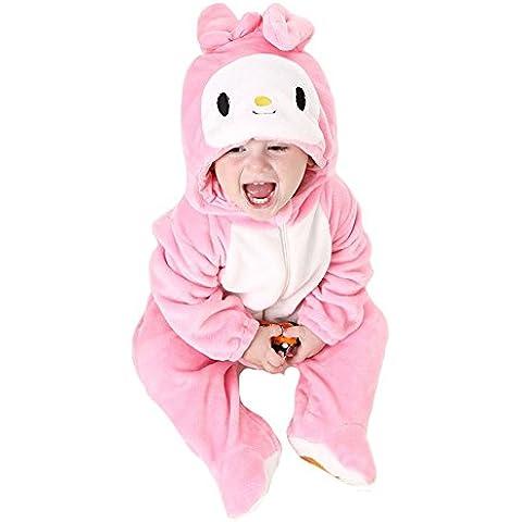 Tonwhar Unisex-Baby Cute Animal Costume Cartoon Tutina