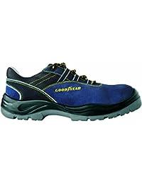 Goodyear 108 S1P Chaussures basses de sécurité, bleu