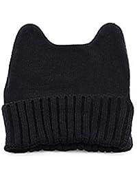 D'Oreilles Mignon Chat Femme Bonnet en tricot hiver chapeau a tricoté chapeau casquette