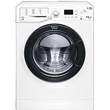 Hotpoint-Ariston FDG 8640BS EU lavadora - Lavadora-secadora (Frente, Independiente, Color blanco, 6 kg, 1400 RPM, B)