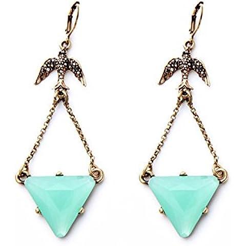 OUYANG Orecchini a triangolo pendente belle signore