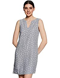 Marks & Spencer Linen A-Line Casual Dress