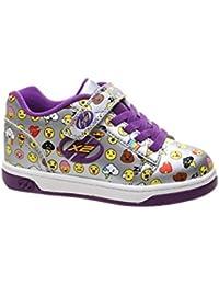 Zapatillas para ni�a, color Morado , marca HEELYS, modelo Zapatillas Para Ni�a HEELYS DUAL UP X2 Con Ruedas Morado