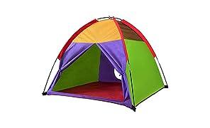 Alvantor Enfants Tentes intérieur Enfants Tente de Jeu Tente-Enfant pour Les Enfants Pop Up Garçons Filles Tente Jouets Playhouse Intérieur Camping en Plein air Aire de Jeux 8010 48A € X48Â € X42