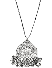 The Indian Handicraft Store The Ganesha Ghungroo Chain Necklace