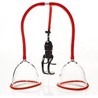 marielove Vakuum Brustpumpe, Brustsauger-Extender zur Brustvergößerung, rot