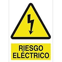 """Cofan A01PL148105 - Señal de seguridad""""Riesgo Eléctrico"""""""