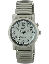 MC Timetrend Herren-Armbanduhr Analog Quarz Beleuchtung Flexband 25125