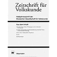 Zeitschrift für Volkskunde [Jahresabo]