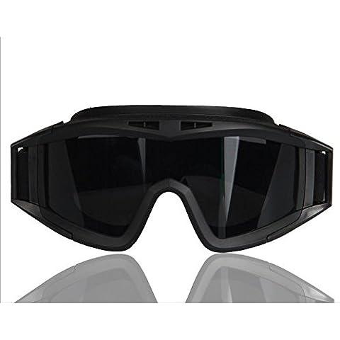 OPEL-R Campo de la leña a prueba de balas gafas tácticas CS 0057 , black