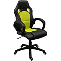 regalosMiguel Sillas Gamer Pro. Sillas Gaming Sillas para Gamer (Verde)
