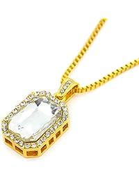 5003a1a66f24 Rcool Collar para mujer Collares colgantes Collares Colgantes collares  mujer plata