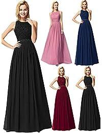 Ever-Pretty Vestido de Noche Largo para Mujer Vestido de Fiesta Boda  Ceremonia 07391 4e777636c026