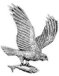 étain Balbuzard pêcheur Marin hawk Oiseaux Pêche Broche   épingle de  cravate   épinglette   Badge ef32416c342
