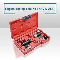 MASO Juego de Herramientas de Ajuste de Cadena de cigüeñal para VW Audi 1.2 1.4 1.9